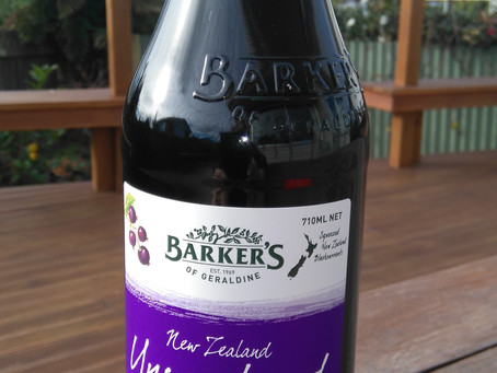 Product review: Barker's Unsweetened Blackcurrant Juice
