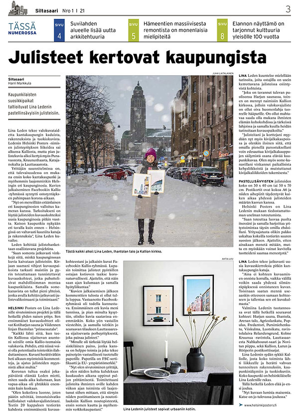 Helsinki-Posters-Siltasaari-lehti-202101