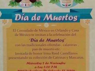 """Mexican Consulate """"Dia de Muertos"""" Catrinas Exhibition"""
