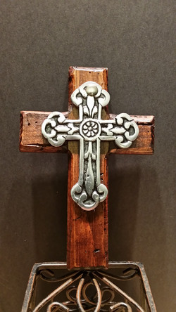 Small wall cross-001- SOLD-
