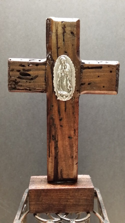 Small cross with stand-002
