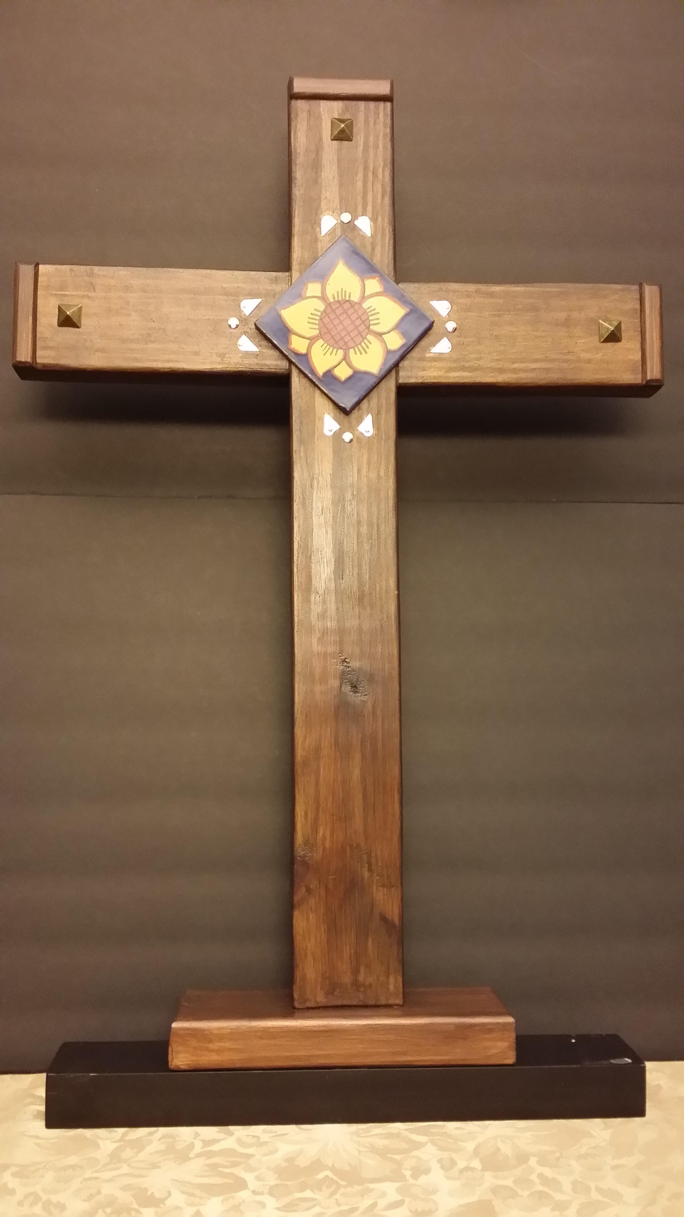Garden Cross- 24 SOLD