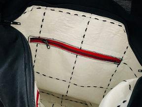 Handmade Bag Interior