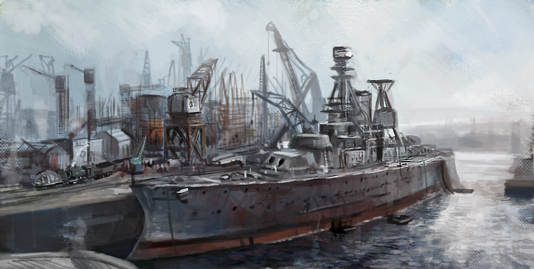 Rule the Waves - ship building