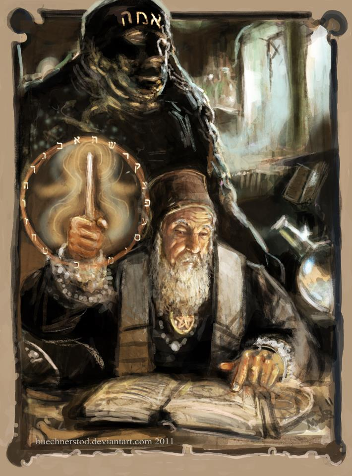 Rabbi Loew and the Golem