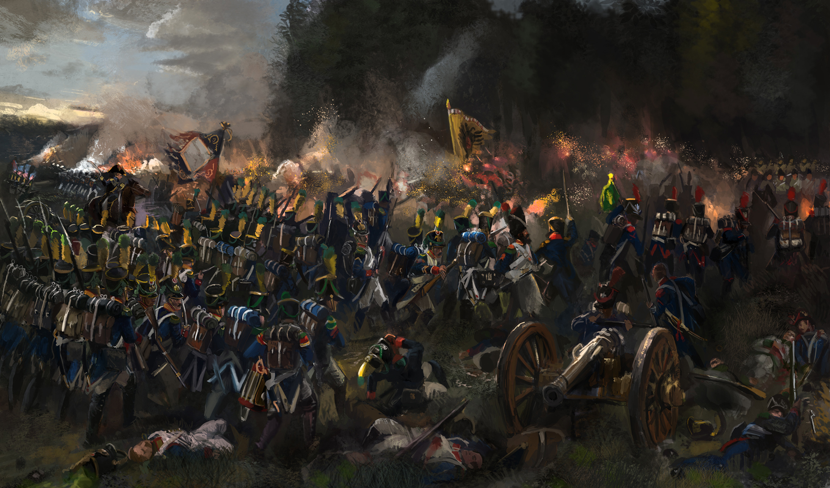 Battle of Teugn-Hausen 1809