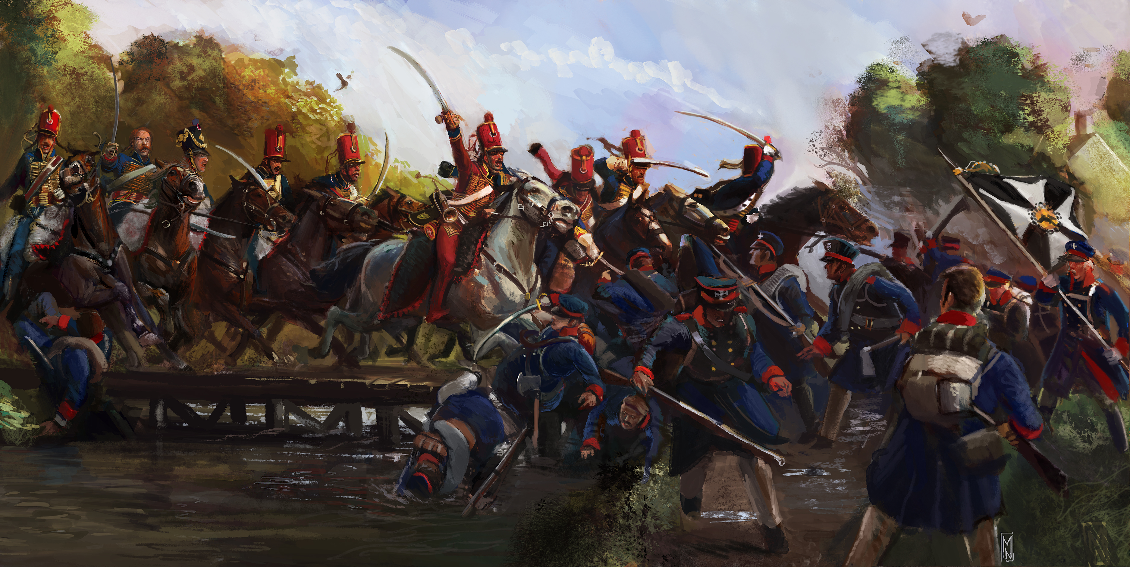 Scourge of War: Wavre