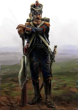 french skirmisher 1809