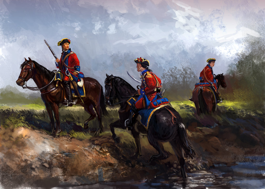 St Louis Cavalry 18th Century