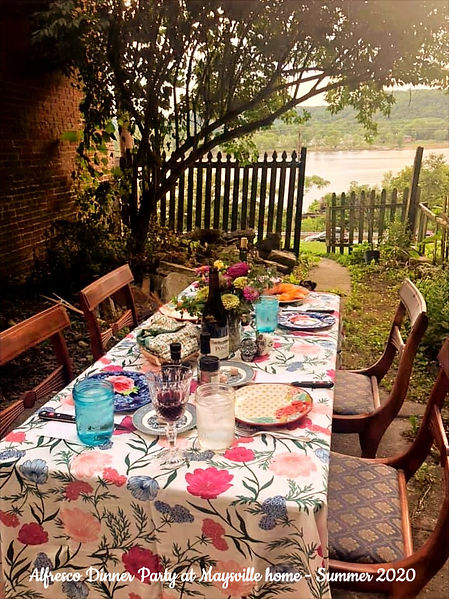 Alfresco Dinner Party designed by The Queen of the Castle