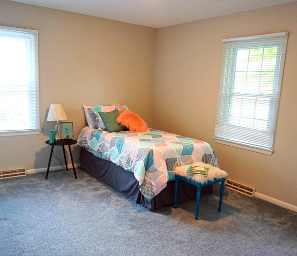 Vacant Staging - Bedroom