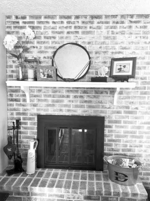Redesign - Fireplace/Living Room
