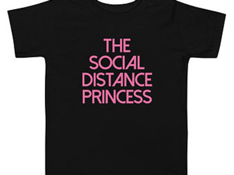 The Social Distance Princess T-shirt