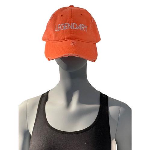 Legendary Hat in Orange