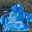 Thumbnail: Cardio then Champagne Blue Tie Dye Sweatshirt