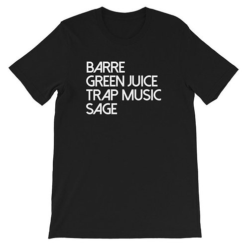Barre and Trap Music T-shirt