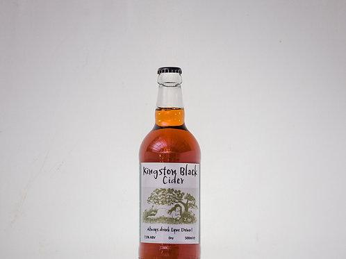 Lyne Down Organics Kingston Black Cider - 6x500ml ℮
