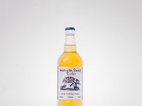 Lyne Down Organics Morgan Sweet Cider - 6x500ml ℮