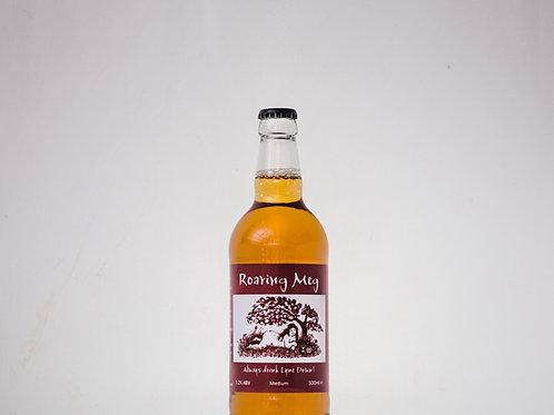 Roaring Meg Lightly Carbonated Medium Cider - 12x500ml ℮ 5.2%abv.