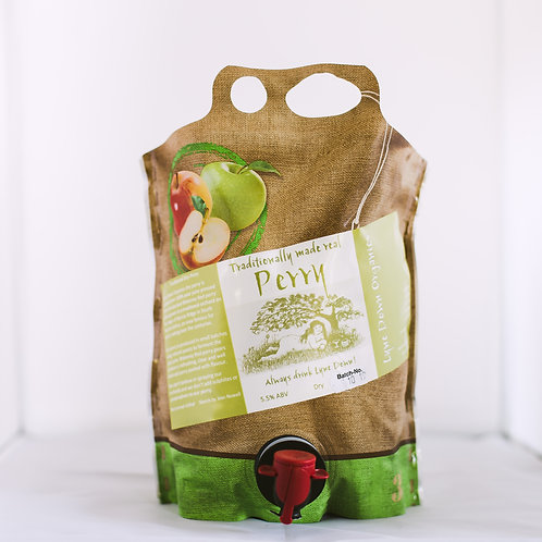 Lyne Down Organics Dry Perry - 3 Litre Pouch ℮