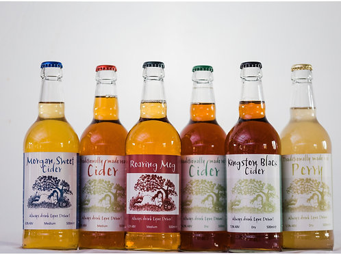 Mixed Case of Cider 6x500ml ℮