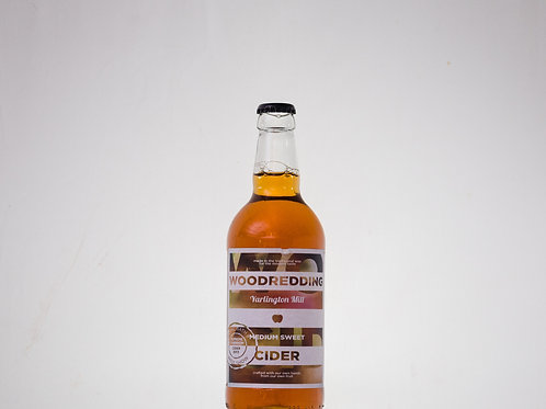 Woodredding Medium Sweet Cider 6x500ml ℮ 7.1%abv.