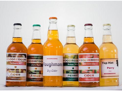 Mixed Case of Woodredding Cider 6x500ml ℮