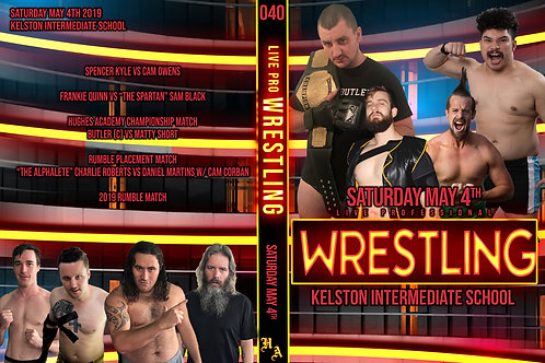 Live Pro Wrestling - May 4th 2019
