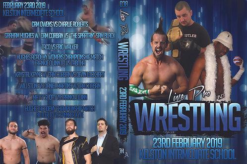 Live Pro Wrestling -23rd February 2019