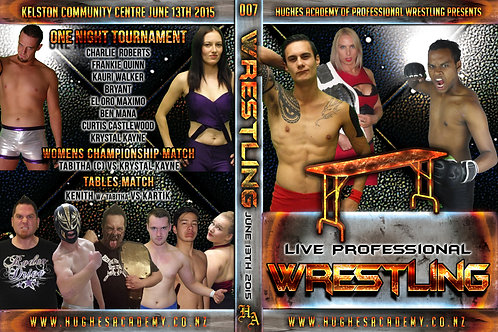 June 13th 2015 - Show DVD