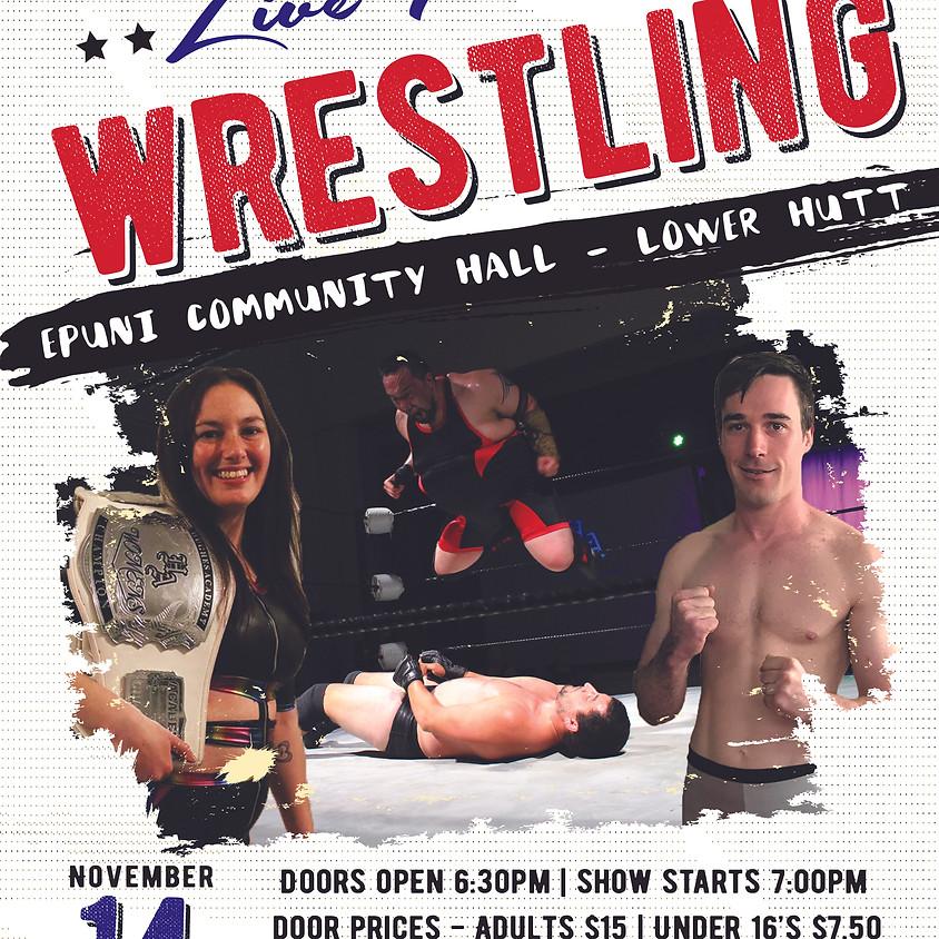 Live Pro Wrestling - Wellington November 14th 2020