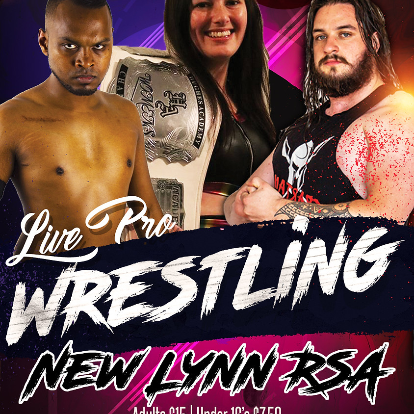 Live Pro Wrestling - New Lynn RSA
