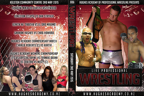 May 2nd 2015 - Show DVD