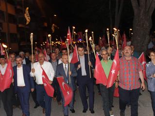 Fener Alayı ve Milli Birlik Yürüyüşü'ne katıldık