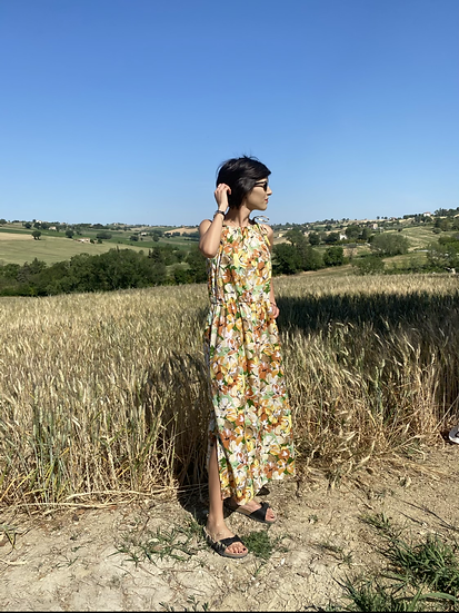 Vestito fiori di campo