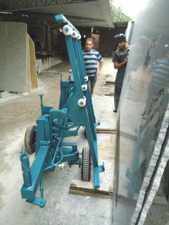 Carrinho Para Fazer Locomoção de Granito