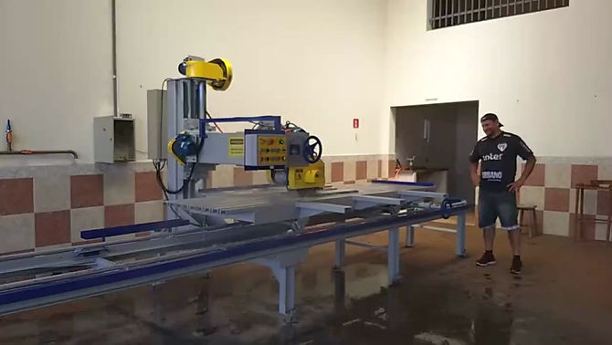 Serra Mármore Automática