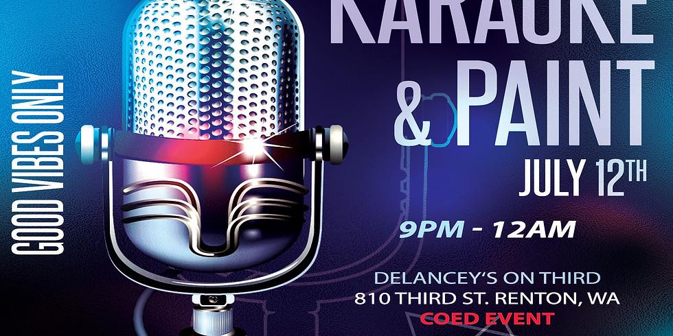 Trap Karaoke & Paint