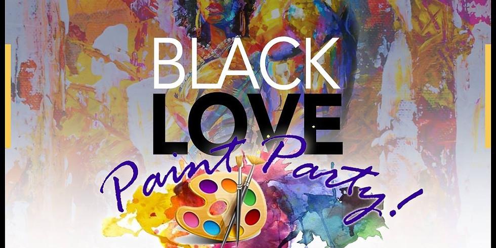 Black Love Paint Party