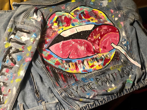Hand Painted Demin Jacket