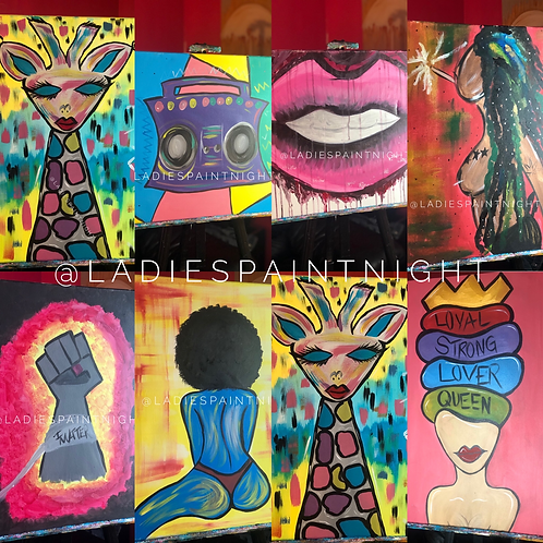 PRIVATE PAINT PARTY - Travel