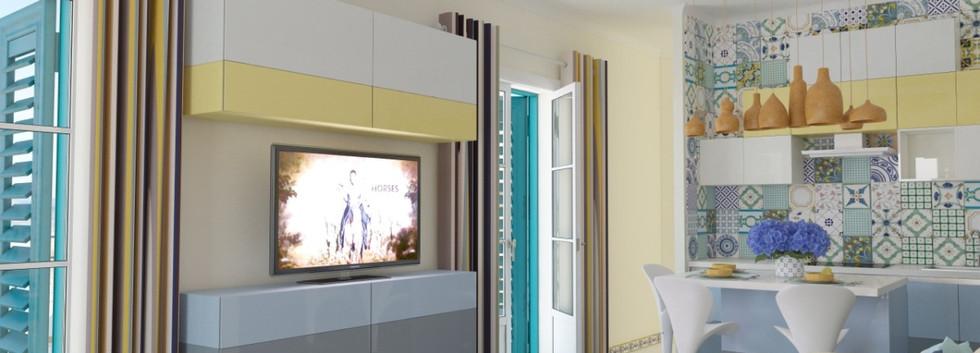 Дизайн проект виллы270кв.м. гор. Тропеа, Италия