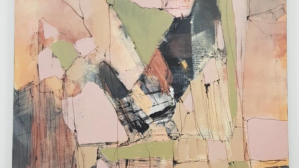 Картина «Кубинка» 60*80 см. Холст, акрил
