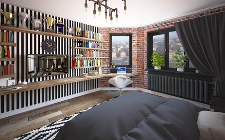 Дизайн комнаты 18кв.м. ТВ Программа ArtLAB , Москва