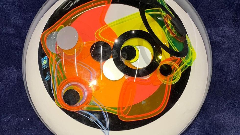 """Арт-объект """"Божественный глаз"""", диаметр 60 см, полиметилметакрилат"""