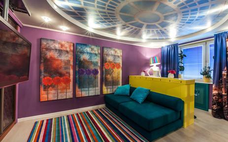 Декорирование комнаты 20кв.м. ТВ Программа Про Декор, Москва