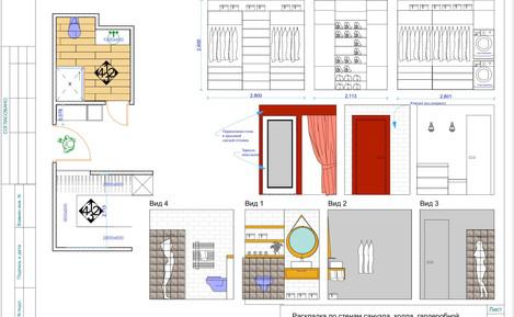 AA84090F-8BE3-46Деталировочные чертежи с конкретной мебелью