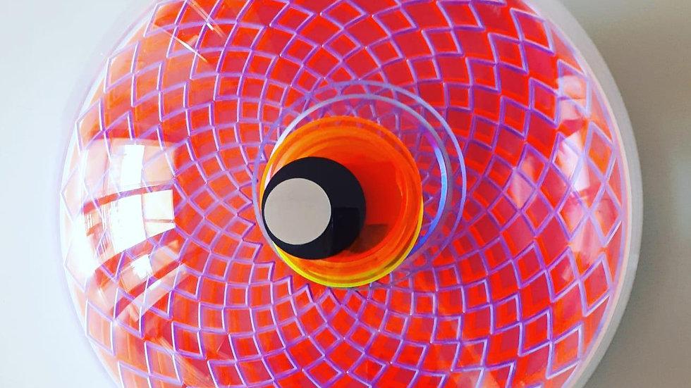 """Арт-объект """"Божественный глаз"""", диаметр 40 см, плесиглаз"""