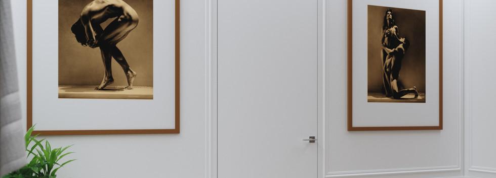 Дверь в прачечную