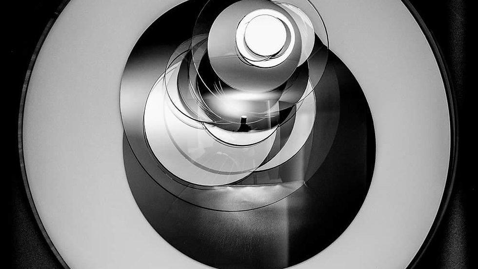 """Арт-объект """"Божественный глаз"""", диаметр 30 см, плесиглаз"""